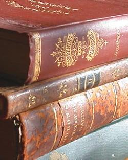 Dirt-y books, photo by Amy Stewart