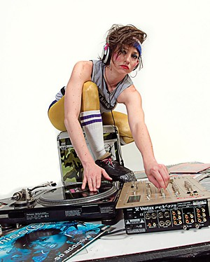 DJ Anya - PHOTO BY TERRENCE MCNALLY, ARCATA PHOTO STUDIOS