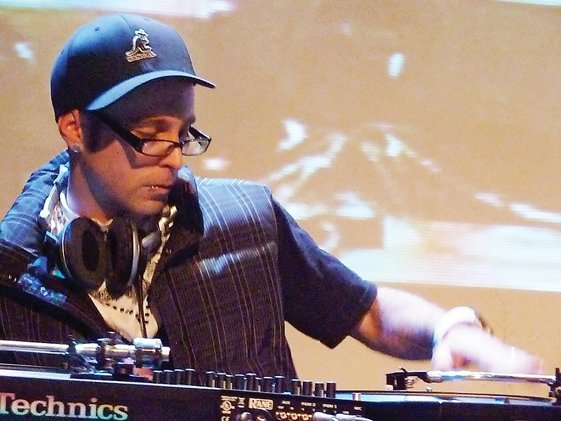 dj Itchie Fingaz - PHOTO BY BOB DORAN