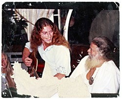 Djin Aquarian of YaHoWha 13 with Father Yod some time in the '70s