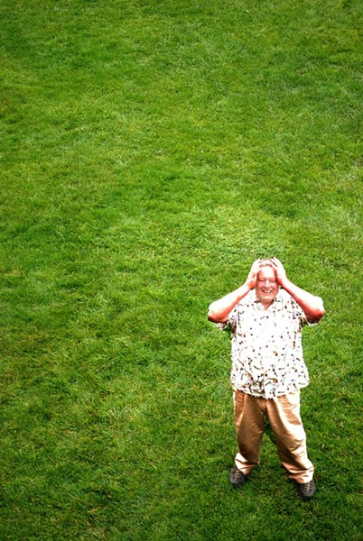 Donald Forrest in The Lawn - COURTESY OF REDWOOD CURTAIN