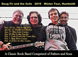 Doug Fir & the 2x4s Winter Tour
