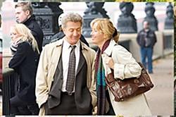 Dustin Hoffman and Emma Thompson in 'Last Chance Harvey'