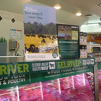 Humboldt: The Brand Eel River Grass-Fed Beef at a SoCal Whole Foods. Photo courtesy of the County of Humboldt.