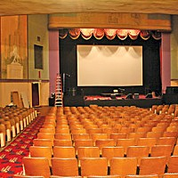 Tale of Two Theaters Eureka Concert and Film Center. Photo by Bob Doran