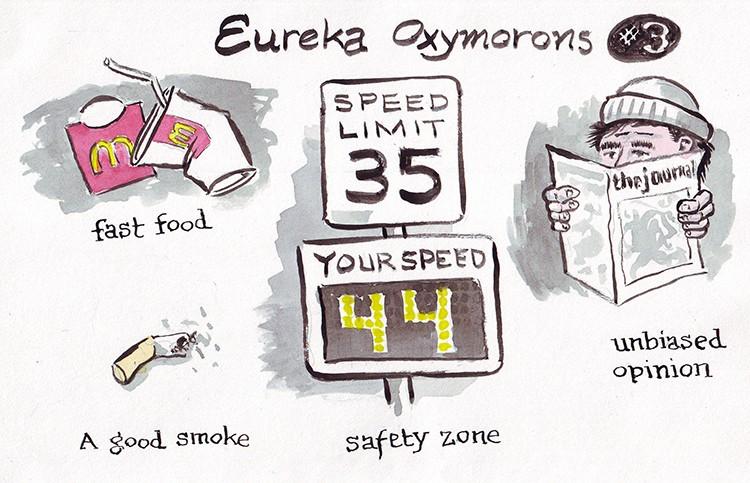 Eureka Oxymorons Pt. 3 - JOEL MIELKE