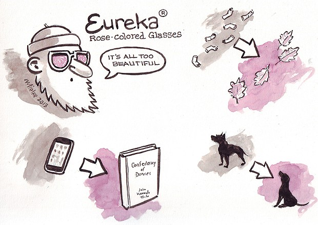Eureka ® Rose-colored Glasses
