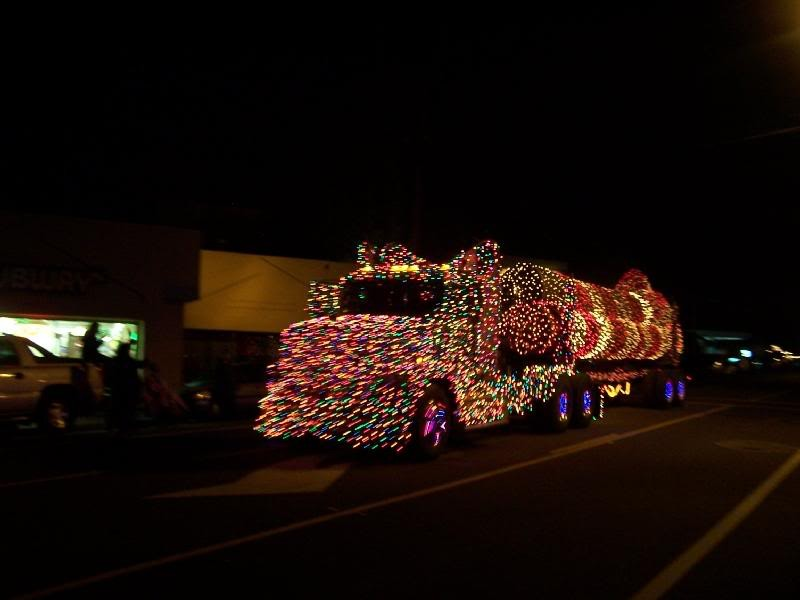 Eureka's lighted trucks - FILE PHOTO