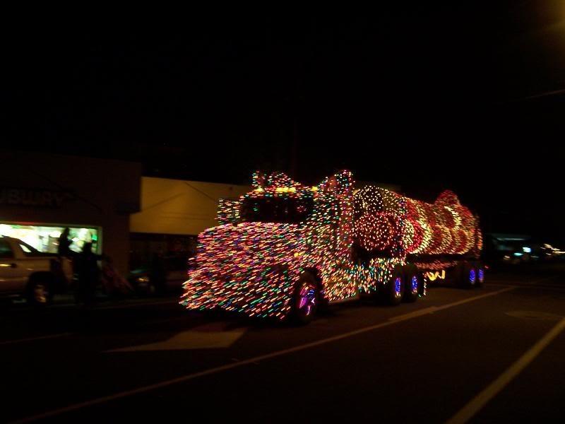 Eureka's lighted trucks - FILE PHOTO