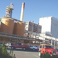Evergreen Pulp Mill. Photo by Heidi Walters.