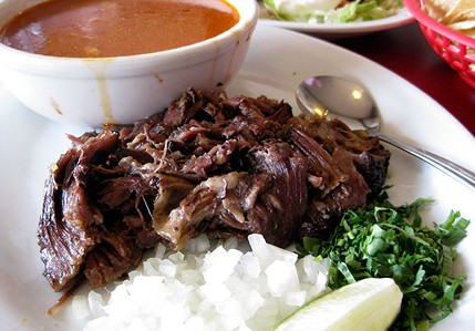 Fall-apart lamb barbacoa, a treat for weekends only. - JENNIFER FUMIKO CAHILL