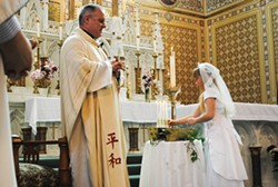 FILE PHOTO - Father Eric Freed.