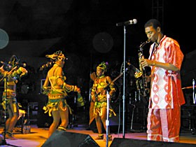 Femi Kuti. Photo by Bob Doran