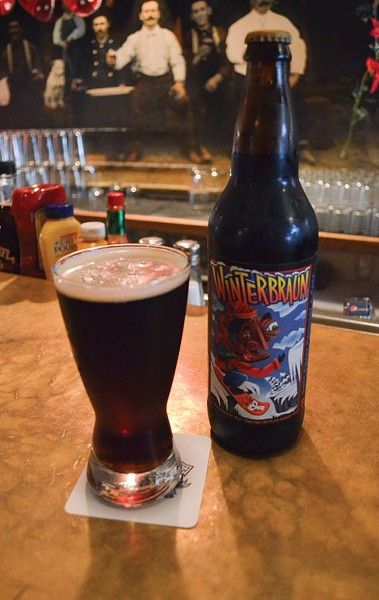Find Lost Coast's Winterbraun on tap at the restaurant or in the bottle. - PHOTO BY GRANT SCOTT-GOFORTH