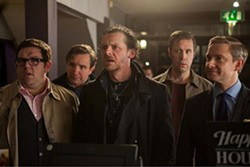 Five guys from the BBC walk into a bar ... Pegg and company in The World's End.