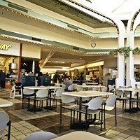 Food court at the Bayshore Mall