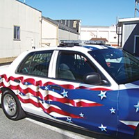 Best Of Humboldt -- Staff Picks Fortuna Police Department's old-glorious cruiser. Photo by Heidi Walters