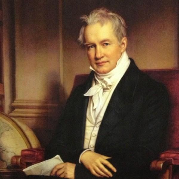 Friedrich Wilhelm Heinrich Alexander von Humboldt - JOSEPH KARL STIELER (1781–1858)