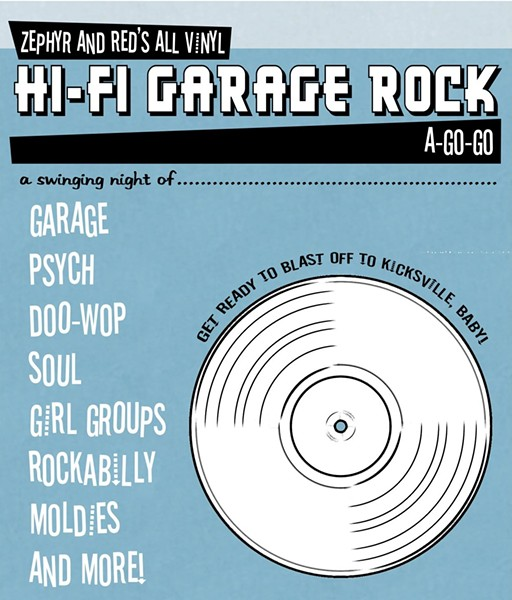 Tonight's Setlist: Garage Rock a Go Go, Benefit for the
