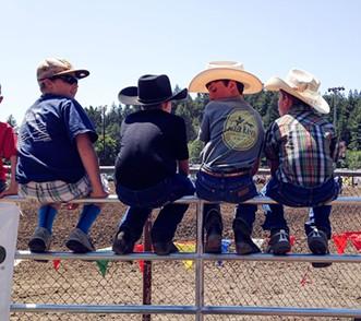 Future cowboys. - JENNIFER FUMIKO CAHILL