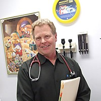 Top of the Charts Garberville primary care physician Dr. Mark Phelps.