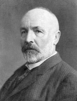 PHOTO FROM WIKIMEDIA COMMONS - Georg Cantor, the man who wrestled with infinity — and won.