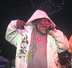 George Clinton at The Mateel. Photo by Bob Doran.