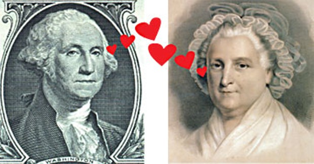 George luvs Martha.