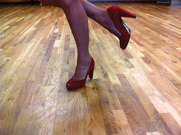 Get down with your bad self at Humbrews - DANCIN SHOES BY COLLEEN HOLE