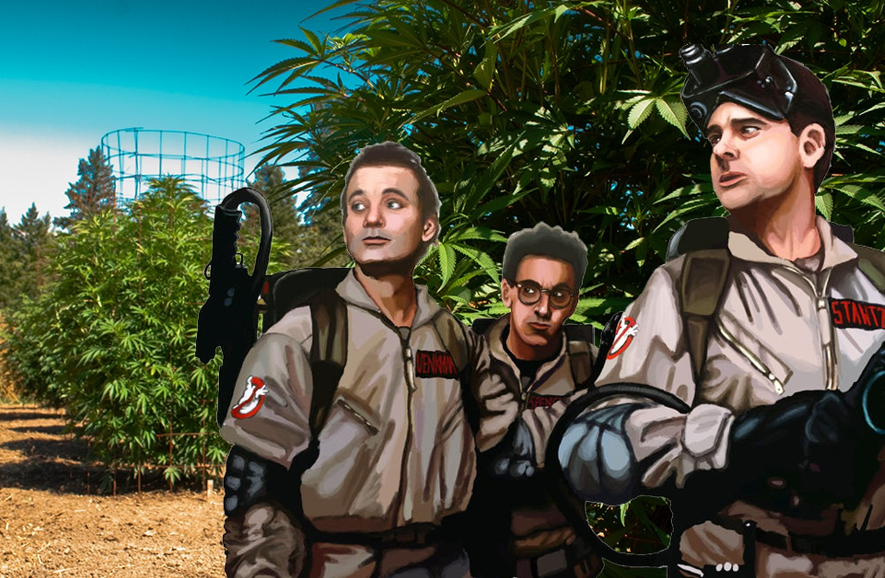 Image result for ghostbusters marijuana