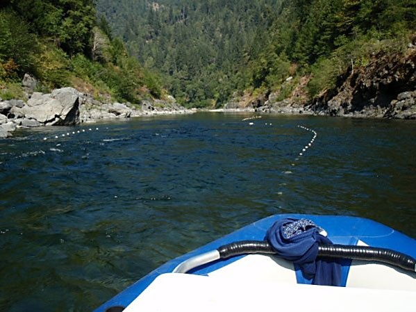 Gill net buoys on the Lower Trinity River in a photo posted on www.usafishing.com. Photo courtesy of Mike Aughney