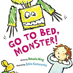 'Go To Bed, Monster!' by Local Author Natasha Wing
