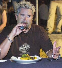 "WIKIMEDIA.ORG - Guy Fieri: ""Food is my song."""
