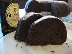 PHOTO BY JENNIFER FUMIKO CAHILL - Have your stout and eat it, too.
