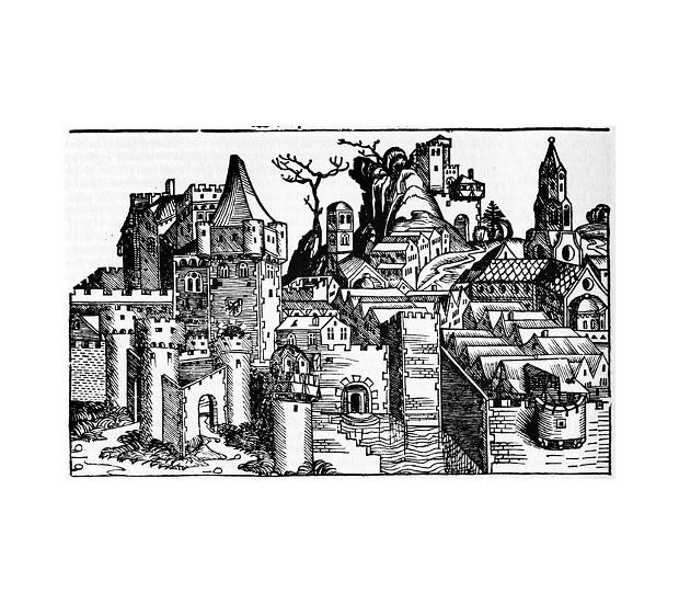 He who bingoeth in Rio Dyll shalt not awardeth in excess of 250 dollarth. - NUREMBERG CHRONICLE, 1493