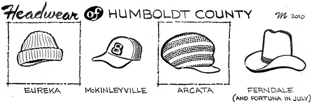 Headware of Humboldt County