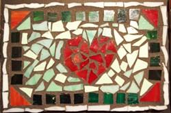 MOSAIC BY KAYLA TEMPLETON AT MCKINLEYVILLE HIGH - Heart