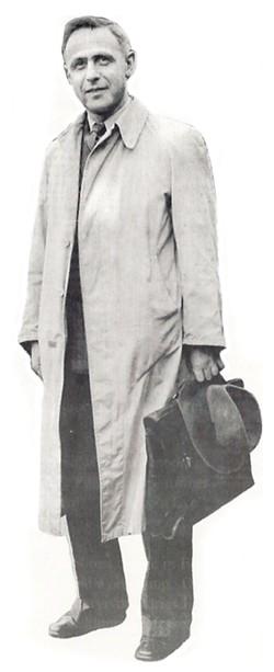 PHOTO COURTESY OF URSULA OSBORNE - Heinrich Liebrecht in a 1940 photo taken by his wife, Elisabeth Hertz.