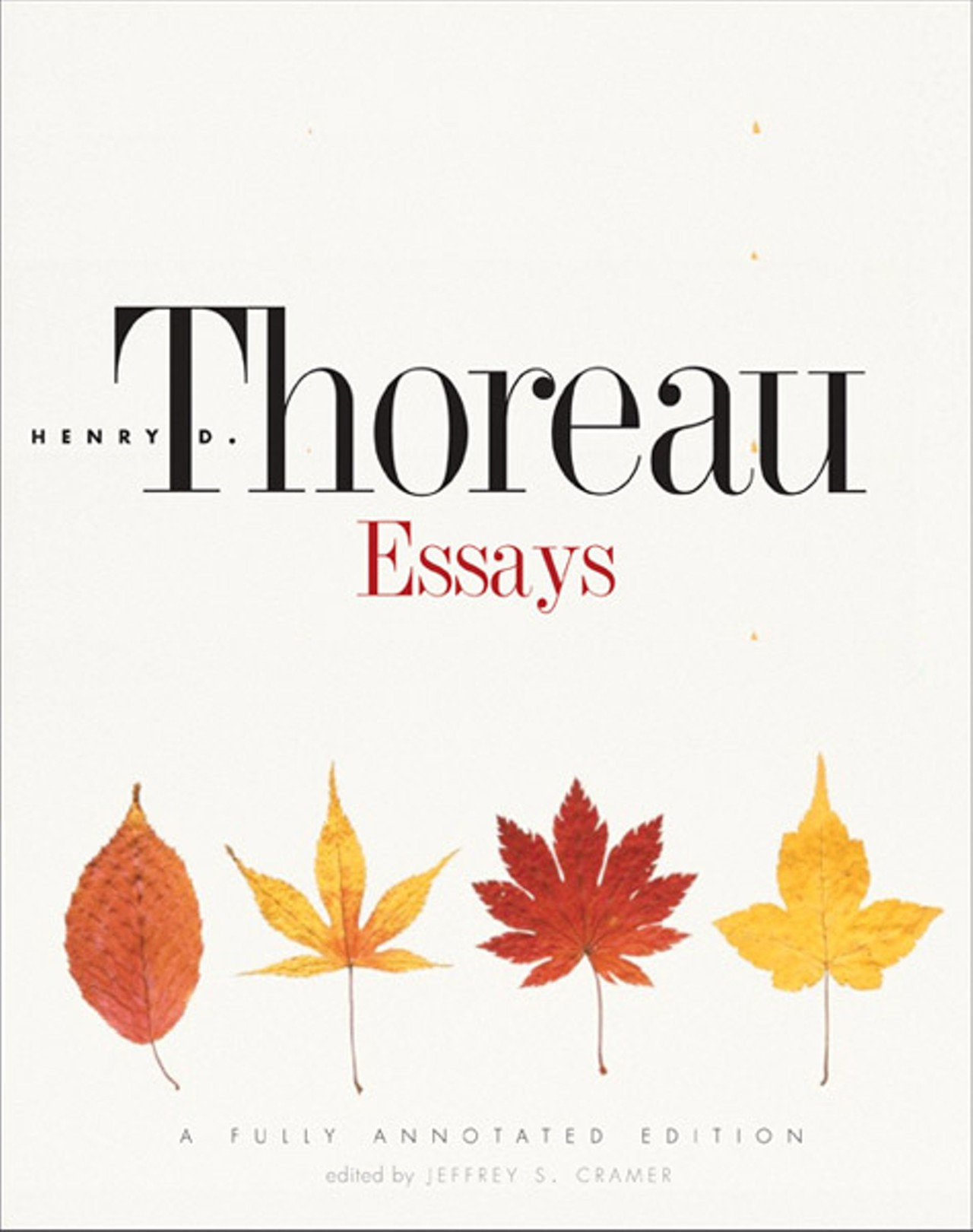 thoreau essays annotated