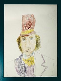 ANTHONY KAFTAL (ARTIST) - Homage to Willy Wonka