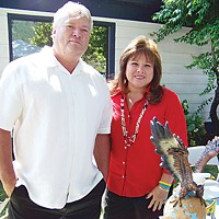 Elrod's Rule Hoopa Valley Tribal Chairman Leonard Masten Jr. and his wife, Susan Masten, on Sovereign Day 2009. Susan Masten is a former chairman of the Yurok Tribe.