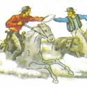 Hot da-! It's Pony Express Days
