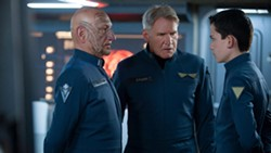 How have you not seen Ghandi or Star Wars? Ben Kingsley, Harrison Ford and Asa Butterfield in Ender's Game