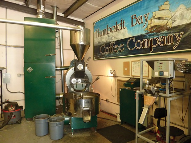 Humboldt Bay Coffee Co - PHOTO BY SCOTTIE LEE MEYERS