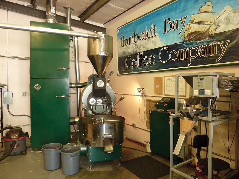 Humboldt Bay Coffee Co - PHOTO BY SCOTTIE LEE MEYERS