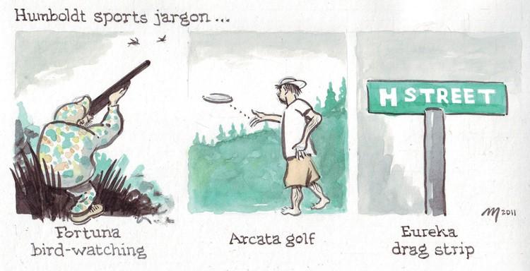 Humboldt Sports Jargon - JOEL MIELKE