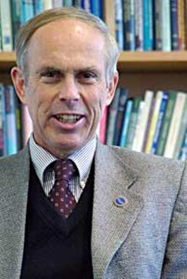 Humboldt State University Provost Rick Vrem. Photo by Kyana Taillon.