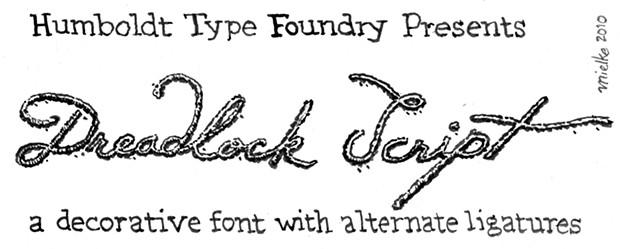 Humboldt Type Foundry Presents