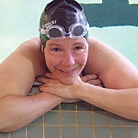 "Can't Swim ""I think it's a tragedy that this pool is closing. This is the one place that's affordable to people in Humboldt County. I have an injury to a knee, and this is one of the few exercises I can do."" Susan Peacock, 54, who's been swimming at the Eureka High"