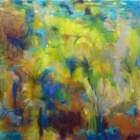 """Different but Not"" In Search of the Sacred Path pastel by Victoria Ryan"